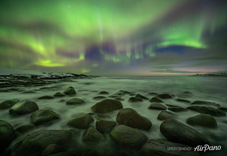 Barents Sea Coast, Russia