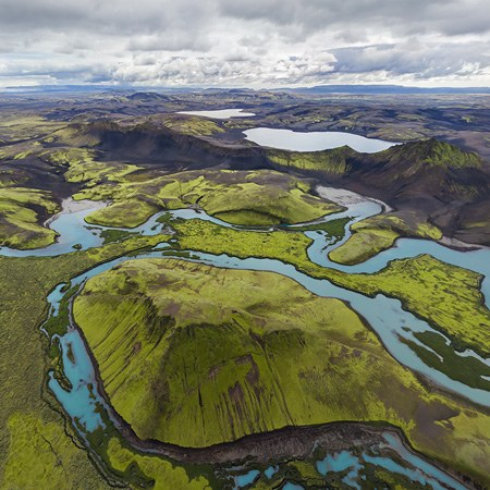 Highlands of Iceland, Langisjor and Veidivotn