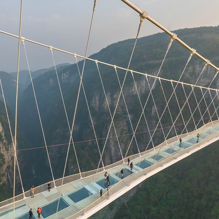 Zhangjiajie Glass Bridge, China