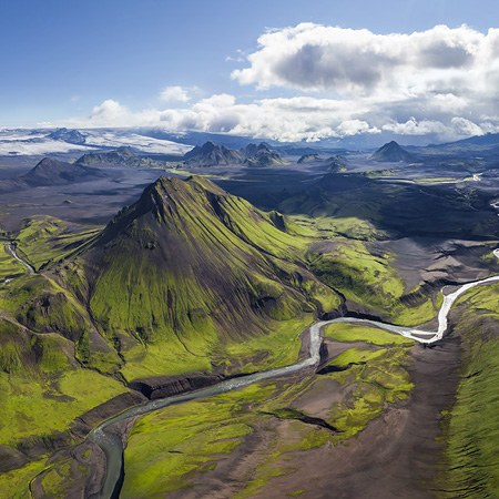 Iceland, the best aerial panoramas