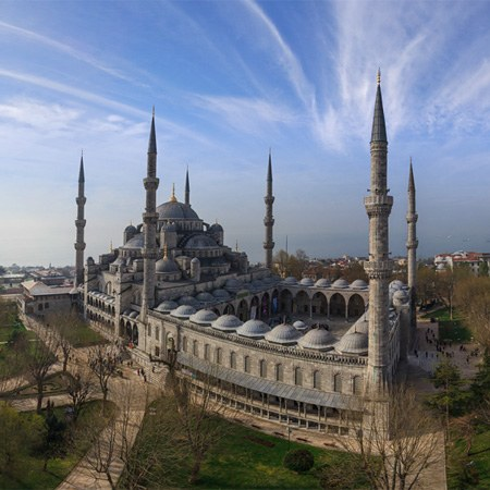 Most Famous Mosques in Istanbul, Turkey