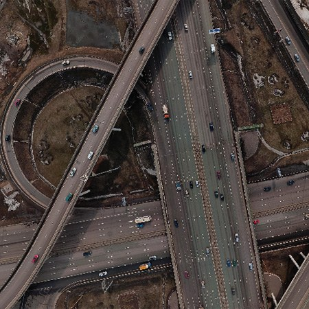 Moscow Automobile Ring Road (MKAD), Russia