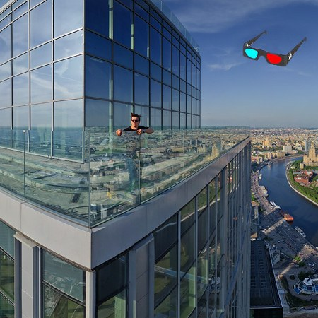 Moscow City View, Stereo Panorama