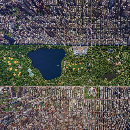 Day view of Manhattan, New York, USA