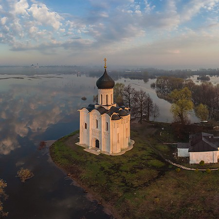 Church of the Intercession of the Holy Virgin on the Nerl River, Russia