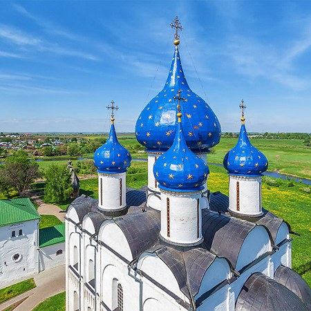 Golden Ring of Russia, City of Suzdal