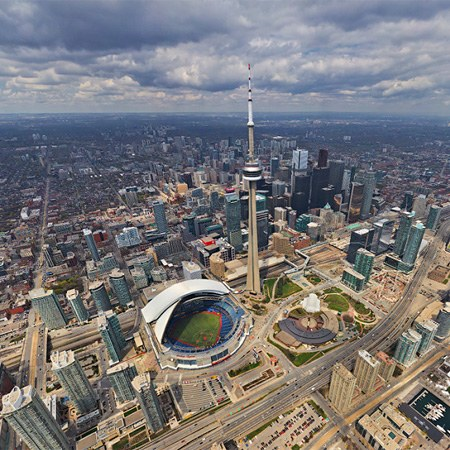 Virtual Tour of Toronto, Canada