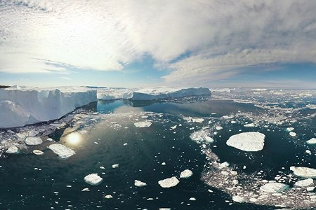Icebergs of Greenland. Part V