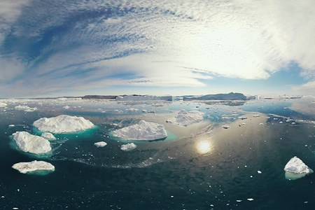 Icebergs of Greenland. Part VI