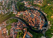 View of the Krumlov from the Castle
