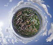 Kiev Pechersk Lavra. Planet