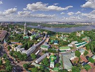 The architectural ensemble of Kiev Pechersk Lavra