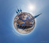 Annunciation Monastery. Planet