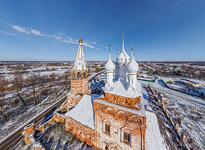 Church of the Intercession of the Holy Virgin. Dunilovo, Ivanovo Oblast