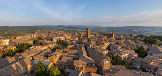 Bird's eye view of Orvieto #1