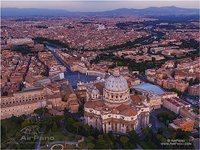 Above the St. Peter's Basilica
