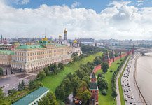 Bird's Eye View of the Moscow Kremlin #3