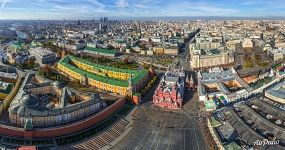 Above the Red Square