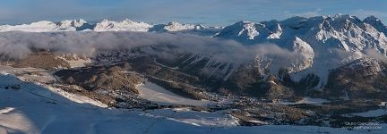 Piz Mezdi, St. Moritz, The Eastern Alpes, Switzerland