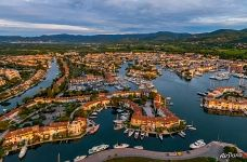 Above the Port Grimaud