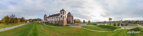 Panorama of the castle