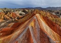 Danxia Colorful Mountains