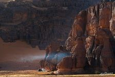 Rocks of Sahara Desert
