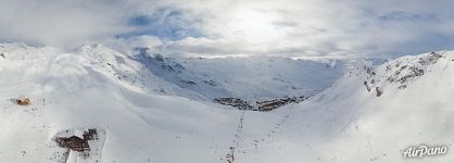 On the slopes of Val Thorens