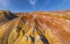 Colorful Mountains Mars-1