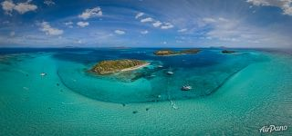 Tobago Cays. Jamesby