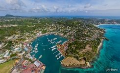 St. George's. Capital of Grenada