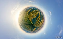 Shaytan Mountain Planet