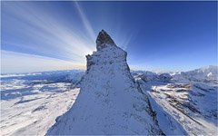 Switzerland, the Matterhorn Mountain