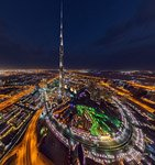 Burj Khalifa at night #2
