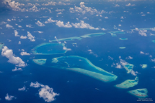 Aerial photo of Maldives #7