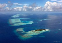 Aerial photo of Maldives #1