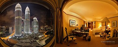 Petronas Towers and Mandarin Oriental Hotel