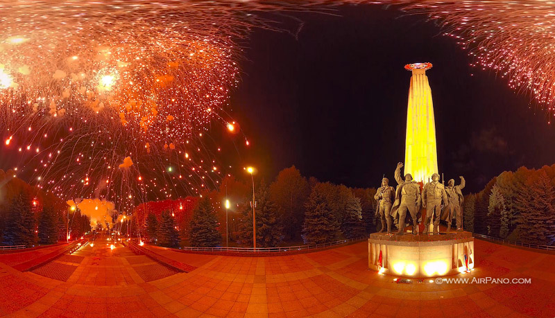 Victory Day firework