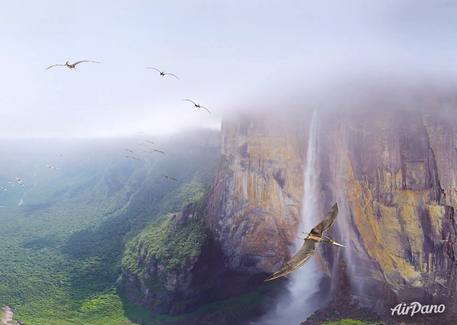 Angel Falls millions of years ago