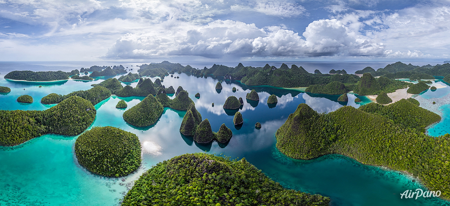 Wayag Islands in Indonesia
