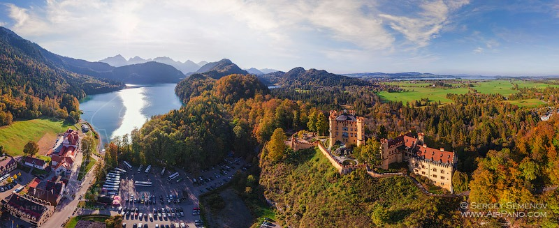 Hohenschwangau Castle and Alpsee