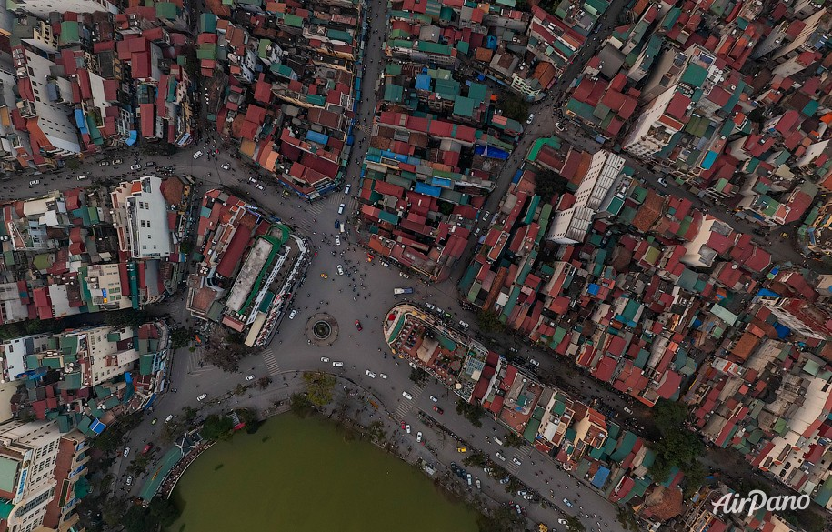 Hanoi from above