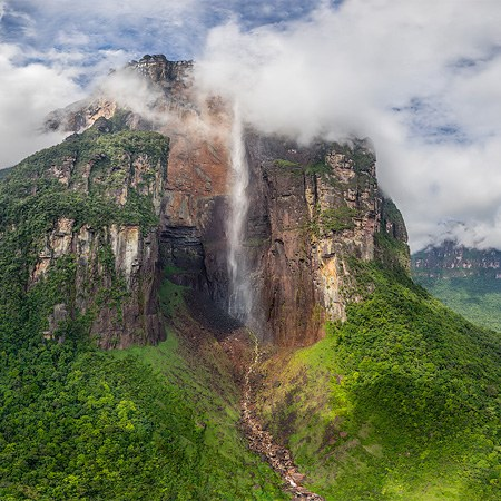 Angel Waterfall, Venezuela. Part II