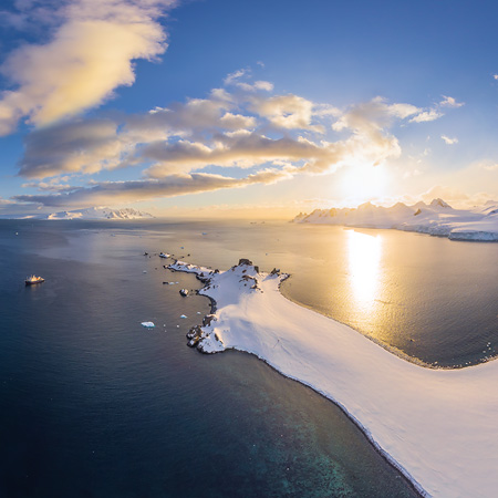 Antarctic expedition of AirPano, Part II