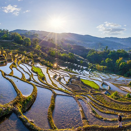 Yuanyang Hani Rice Terraces, China