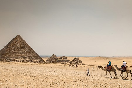 Egyptian pyramids. Part II