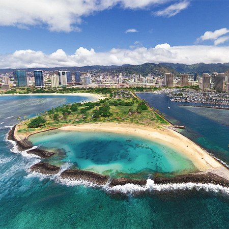 Hawaii, Oahu Island Virtual Tour