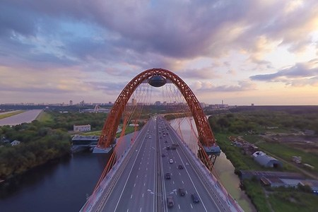 Zhivopisniy Bridge, Moscow