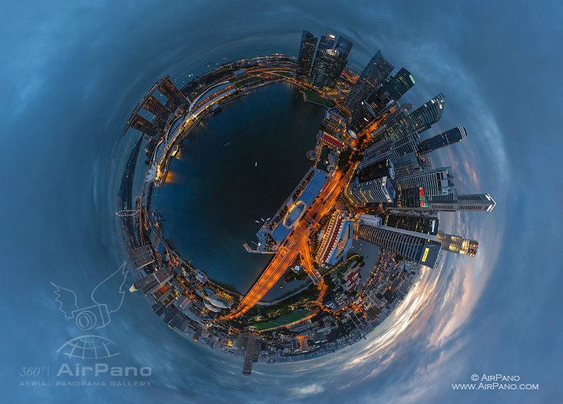 The planet Singapore