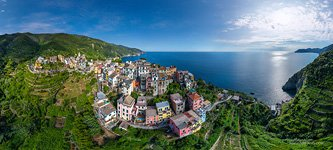 Corniglia — the smallest town of Cinque Terre